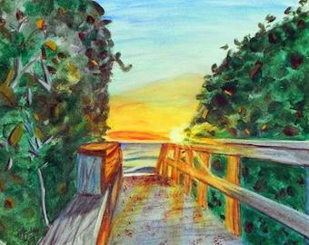 Beach Art...Surf Art by M Gilroy...