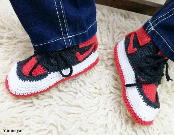 53ff49423eba4 Kids Slippers Toddler Footwear House Crocheted by Yunisiya on Etsy durable  modeling. Nike Shoes