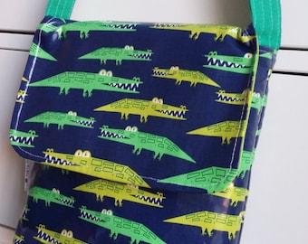 CHOOSE fabric Boys Wipe Clean Mini Messenger Bag