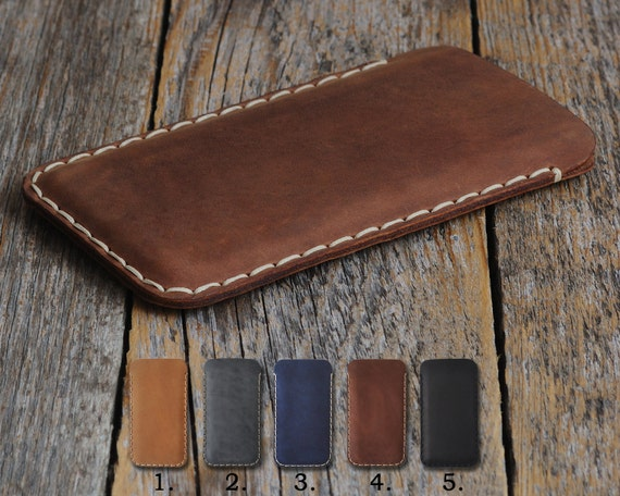 Nokia 2 8 6 5 3 Case Pouch. Handmade Cover Genuine Real Cow Leather Shell Sleeve Rough Vintage Style Custom Sizes