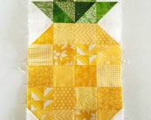 Pineapple Patchwork Blocks ~ Fabric Destash ~ Fabric Scraps - Quilt Blocks