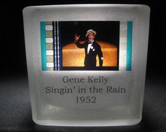 Singin' in the Rain - Gene Kelly #1 - Film Cell - Glass Votive