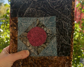Wave Quilted Journal