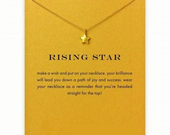 Good Luck necklace with lucky star as a gift