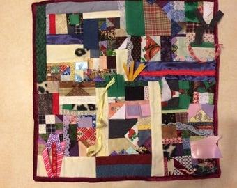 Fidget Quilt / Sensory Blanket - Clean the Table