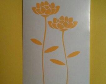 Flower Window Decal/Flower Shop Window Decals/Flower Decals/Flowers