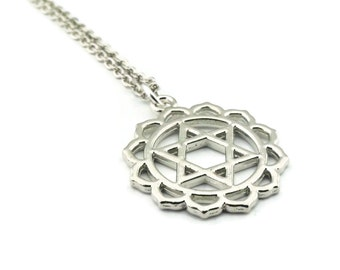 Chakra Necklace, Heart Chakra Necklace, Anahata Necklace