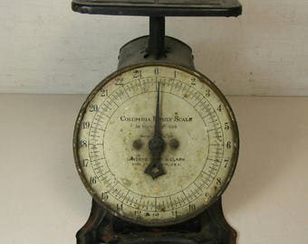 Vintage Antique Landers Frary & Clark Columbia Family Scale