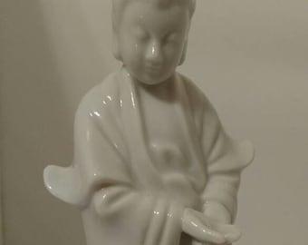 Porcelain figure of Kannon, Japanese goddess of mercy