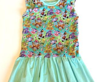 Baby Girl Dress 4/5years , bouncing bears