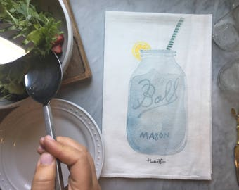 Ball Mason Jar - TEA TOWEL