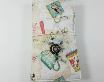 Raggedy Fabric Standard Size Travelers Notebook Cover