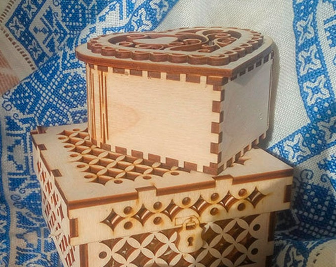 Wooden gift box - free shippin in case of shipping with another item