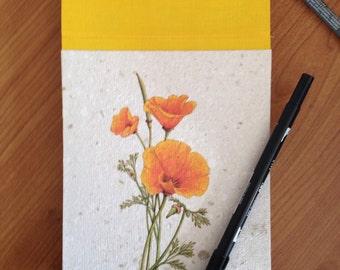 floral pattern block