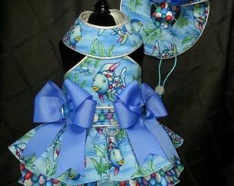 Rainbow Fish Harness Dress