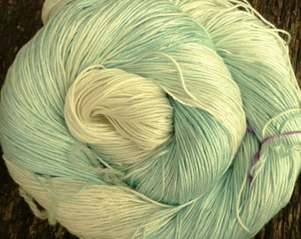 MULBERRY SILK 4ply / fingering super-soft Pure Silk, 100 gms 400 mts Mollycoddle Yarns, hand dyed