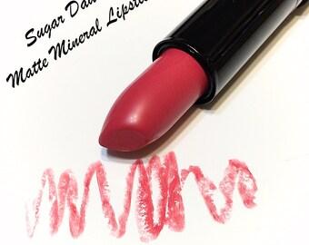 Clearance Sale SUGAR DADDY Mineral MATTE Lipstick - Natural Gluten Free Lipstick
