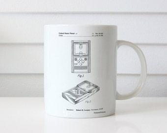 Electronic Basketball Game Patent Mug, Basketball Coach Gift, Basketball Room Decor, Game Room Mug, Retro Toys, PP0950