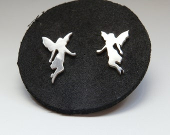 Silver nymphs earrings