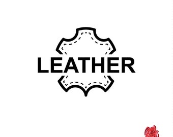 Custom Logo Design Leather Symbol Artwork  100% Money Back Guarantee