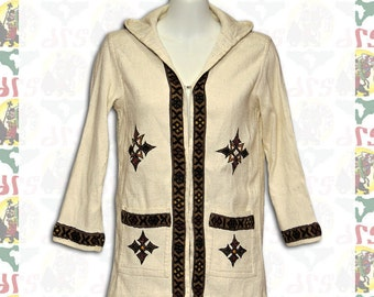 Ethiopian Traditional hand embroidered Jacket S