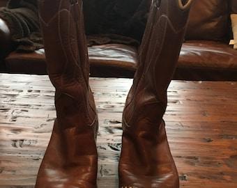 Vintage Nocona Western Boots Size 7.5