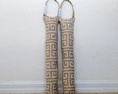 Boot Shaper Stands/Boot Forms - Gray Geometric