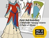 Medieval Princess Gowns- ...