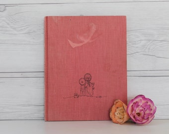 Joan Walsh Anglund Hardcover Book of Poems- Morning Is A Little Child, Vintage Children's Book