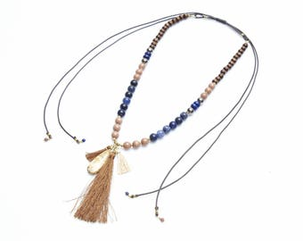 10 cm - vermeil chain and Garnet stone-3 mm for the Choker, necklace and bracelet