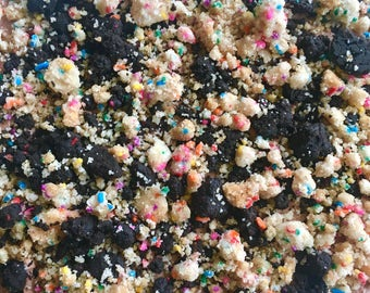 Mixed Birthday Cake Crunch Topping