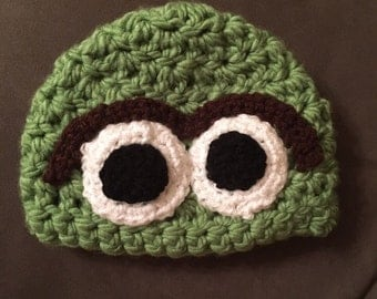 Childrens crochet character hats