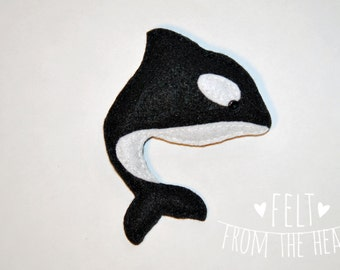 Orca Tooth Fairy Pillow