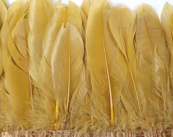 1 x Yard of Honeycomb Goose Feather Trim