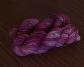 Hand Dyed Yarn, 'Does Anybody Know How to Hold My Heart?', 393 yds/360m fingering weight