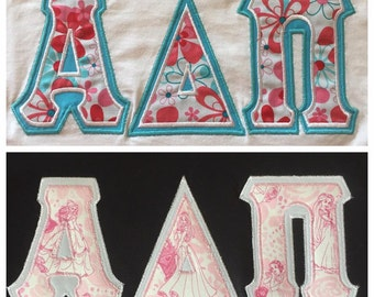 alpha delta pi letter shirts 2 to choose from ready to ship