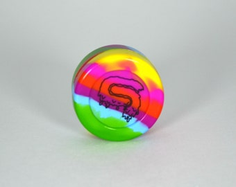 STS9 38mm Rainbow  Silicone Container(FREE SHIPPING/TRACKING)