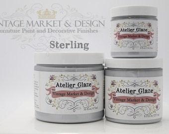 FREE SHIPPING!! Sterling (Glaze) - Vintage Market & Design's Furniture Atelier Glaze-All Natural(3 Sizes)