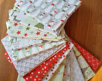 Christmas Collection Bakers Dozen - 13 x FQ Bundle