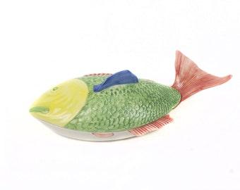 Source for Fish, Ceramic Secla, Portugal, 70s.