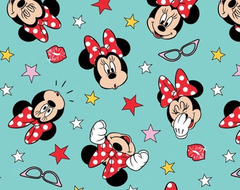 Disney Fabric Minnie Being Silly Fabric From Springs Creative