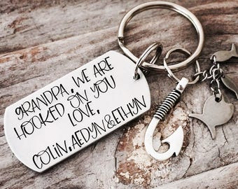 Personalized Fathers Day Gift / Dad Key Chain / Funny Key Chain for Him / Dad Gift / Parenting Key Chain