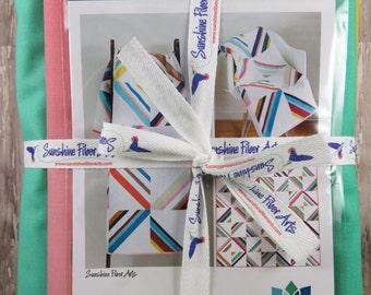 Hang Ten Quilt Kit - Ombré Fabrics - Vanessa Christenson - Moda