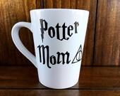 Potter Mom Always / Harry Potter Mug / Gift for Her / Coffee Cup / Handmade Mug / Coffee Mug / Vinyl Mug / Ceramic Mug / Coffee