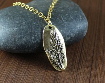 Rustic Romantic ~ Mother Nature ~ Forest pendant necklace