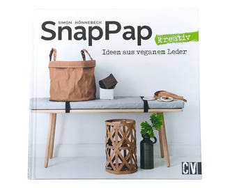 "Book ""SnapPap"" ideas in vegan leather"