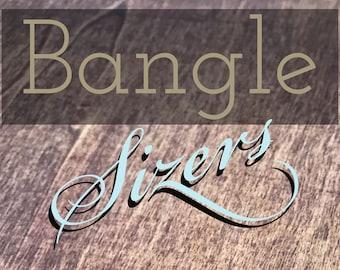 Bangle Sizers