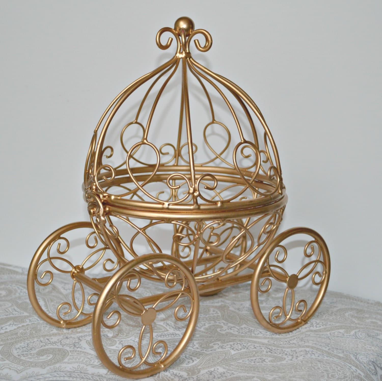 Google themes fairy tail - Cinderella Coach Centerpiece Gold Wire Cinderella Carriage Fairytale Wedding Ball Centerpiece Gold Baby Shower Princess Party Quincea Era