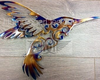 Hummingbird Metal Wall Art Metal Wall Decor