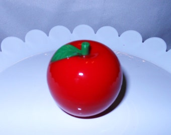 Red Apple Shaped Lip Balm
